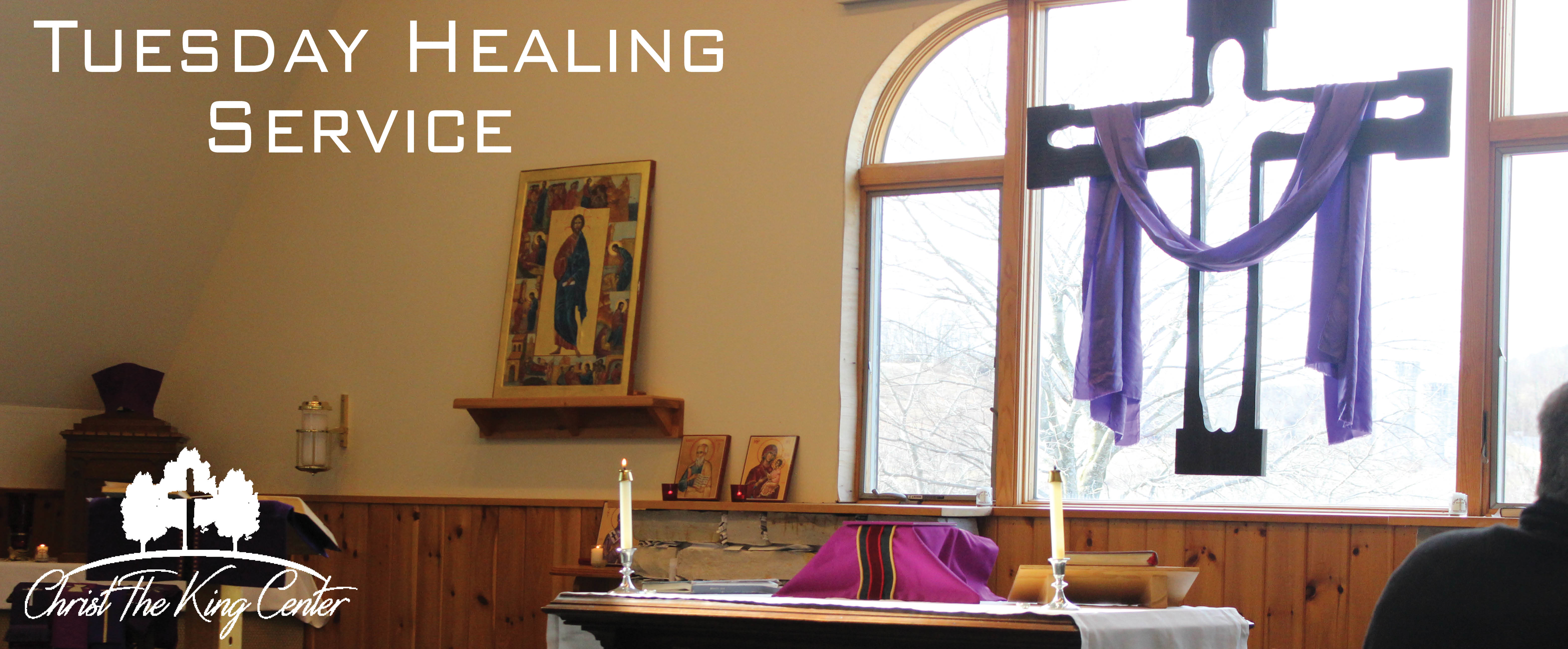 Tuesday Healing Service Banner